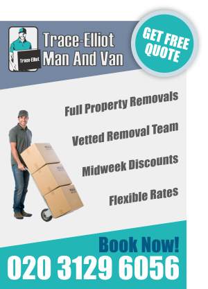 Benefits of Trace Elliot Man And Van in London