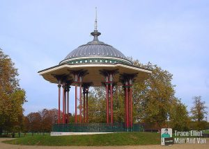 A bandstand in Clapham Common