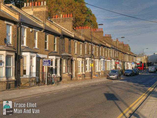 Residential Street in Hackney Wick